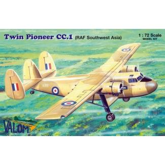 Scottish Aviation Twin Pioneer CC.1 (RAF Southwest Asia) (1:72)
