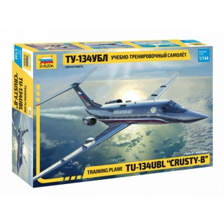 "Zvezda 7036 Training PlaneTupolev Tu-134UBL ""Crusty-B"" (1:144)"