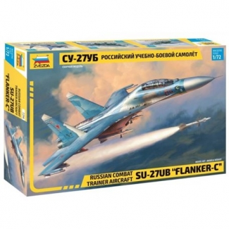 "Russian Combat Trainer Aircraft Su-27UB ""Flanker-C"" (1:72)"