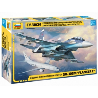"Russian air superiority fighter Su-30SM ""Flanker C"" (1:72)"