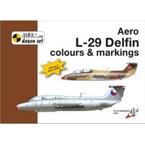 Aero L-29 Delfin Colour and markings and decals (1:144)