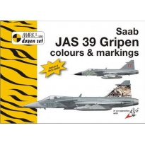 Saab JAS 39 Gripen Colour and markings and decals (1:144)