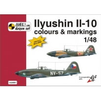 Ilyushin Il-10 Colour and markings and decals (1:48)