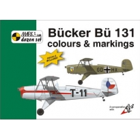 Bücker Bü 131 Colour and markings and decals (1:48)