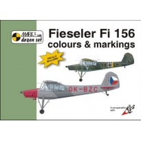Fieseler Fi 156 Colour and markings and decals (1:48)
