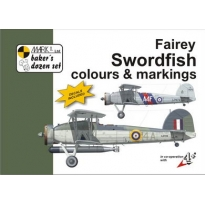 Fairey Swordfish Colour and markings and decals (1:48)