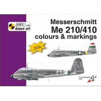 Messerschmitt Me 210/410 Colour and markings and decals (1:72)