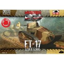 First to Fight FT-17 Czołg lekki (1:72)