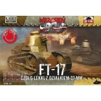 First to Fight FT-17 Czołg lekki z działkiem 37mm (1:72)