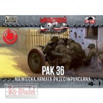 First to Fight Niemiecka armata przeciwpancerna PAK 36 (1:72)
