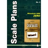 Scale Plans No. 5 Mitsubishi A6M Zero (1:72, 1:48 i 1:32)