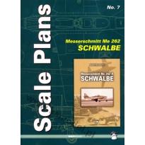Scale Plans No. 7 Messerschmitt Me 262 Schwalbe (1:32 1:48)