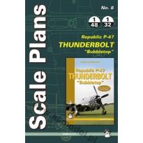Scale Plans No. 8 Republic P-47 D/N Thunderbolt