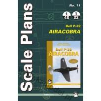 Scale Plans No.11 P-39 Airacobra (1:48, 1:32)
