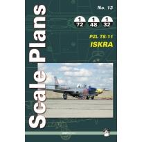 Scale Plans No.13 PZL TS-11 Iskra (1:72, 1:48, 1:32)