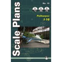 Scale Plans No.15 Polikarpov I-16 (1:72,1:48,1:32)