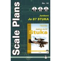 Scale Plans No.16 Junkers Ju 87 Stuka (1:72,1:48,1:32)