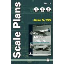 Scale Plans No.17 Avia S-199 (1:72,1:48,1:32)