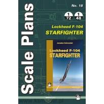 Scale Plans No.18 Lockheed F-104 Starfighter (1:72,1:48)