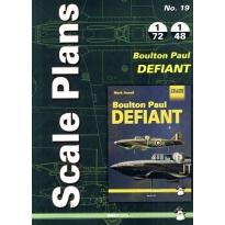 Scale Plans No.19 Boulton Paul Defiant (1:72,1:48)