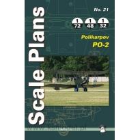 Scale Plans No.21 Polikarpov Po-2 (1:72,1:48,1:32)