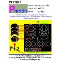Hurricane Mk.I: Maska (1:72)