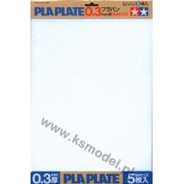 Płyta polistyrenowa 0,3 mm format B4 (5 arkuszy)