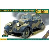 British WW2 Staff Car Super Snipe Saloon (1:72)