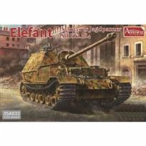 Elefant Schwerrer Jagdpanzer Sd.kfz.184 Full interior(1:35)