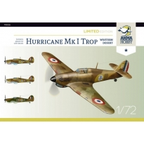 Hurricane Mk I trop Western Desert - Limited Edition (1:72)