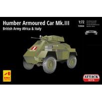 Humber Armoured Car Mk.III British Army Africa & Italy (1:72)