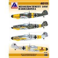 Messerschmitt 109F Barbarossa (1:48)