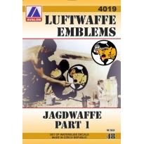 Luftwaffe emblems – Jagdwaffe part 1 (1:48)