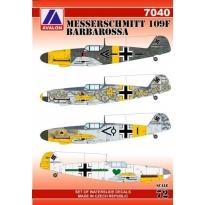 Messerschmitt 109F Barbarossa (1:72)