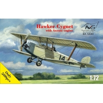 Hawker Cygnet with Anziani engine (1:72)