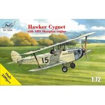 Hawker Cygnet with ABS Skorpion engine (1:72)