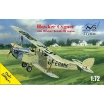 Hawker Cygnet with Bristol Cherub-III engine (1:72)