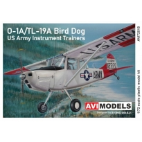 O-1A/TL-19A Bird Dog US Army instrument trainers (1:72)