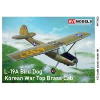 L-19A Bird Dog Korean War Top Brass Cab (1:72)