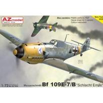"""Messerschmitt Bf 109E-7/B """"Schlacht Emils"""" (1:72)"""