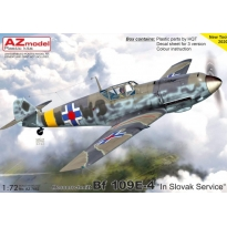 "Messerschmitt Bf 109E-4 ""In Slovak Service"" (1:72)"