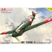 """Messerschmitt Bf 109E-3 """"In Swiss Service"""" (1:72)"""