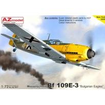 """Messerschmitt Bf 109E-3 """"Bulgarian Eagles"""" (1:72)"""