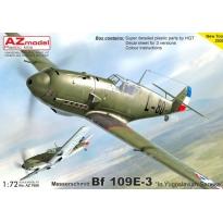 """Messerschmitt Bf 109E-3 """"In Yugoslavian service"""" (1:72)"""