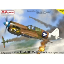 """Curtiss P-40E Warhawk """"49.th Fighter Group"""" (1:72)"""
