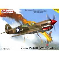 """Curtiss P-40E Warhawk """"AVG"""" (1:72)"""