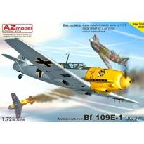 """Messerschmitt Bf 109E-1 """"JG.27"""" (1:72)"""