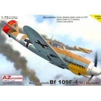 """Messerschmitt Bf 109F-4 """"H.J.Marseille"""" (1:72)"""