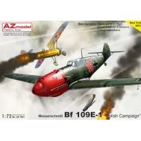 """Messerschmitt Bf 109E-1 """"Polish Campaign"""" (1:72)"""