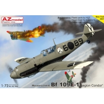 "Messerschmitt Bf 109E-1 ""Legion Condor"" (1:72)"
